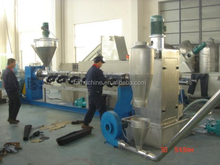 Water-ring Cutting Plastic Recycling Machine