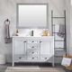 Durable modern style solid wood bathroom cabinet vanity bathroom sink and cabinet combo