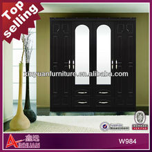 W984B easy-assemble and promotional apartment size bedroom furniture