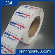 Custom Offset Printed Roll Adhesive E Juice Bottle Label
