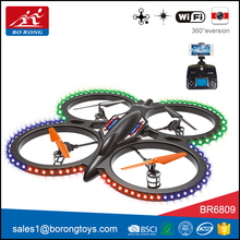 most popular 6 axis gyro hd drone camera wifi unmanned aerial vehicle with high quality