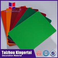 Alucoworld OEM FREE and High quality building finishing materials fuzhou aluminum composite panels