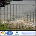 Galvanized steel crowd control barricade Concert Crowd Control Barriers