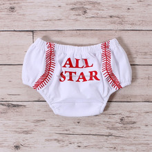 hot selling!! baby bloomers trousers short toddler leggings wholesale patriots jersey