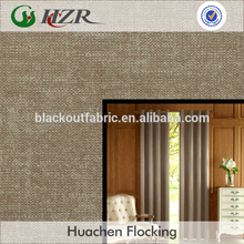 Printed Polyester Pongee Material Blackout Curtain Fabric