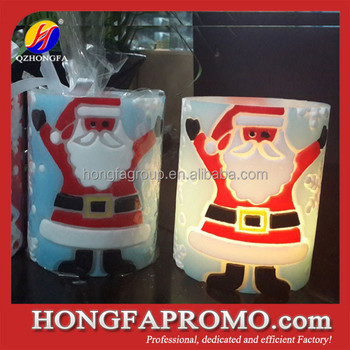 Novelty Remote Controlled Wireless Christmas Candle