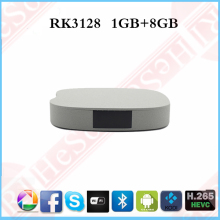 High Functions android 4.4 Tv box RK3128 1GB/8GB Quad-core 1080p output Player tv box codi android tv box