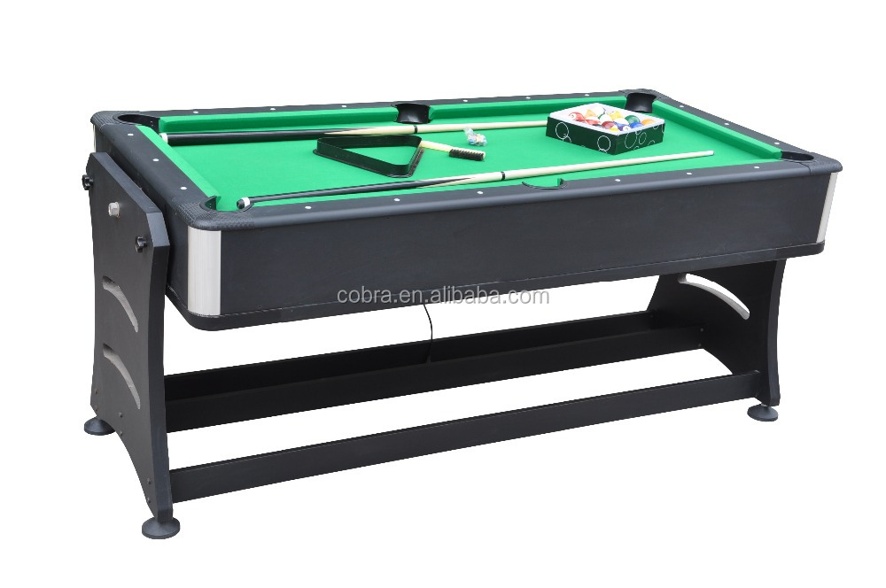 Revisable 2 in 1 Folding pool table and hockey table