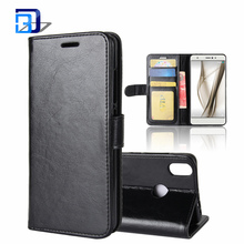 High Quality PU Leather Wallet Cover Card Holder Stand Magnetic Folio Case For BQ Aquaris X / X Pro