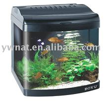 BOYU Aquarium Nano Tank for Home Decoration