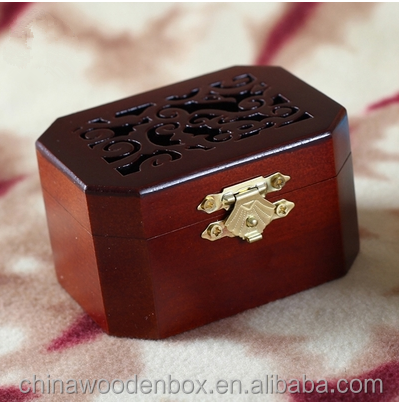 2016 most popular hot selling natural wooden music box wholesale