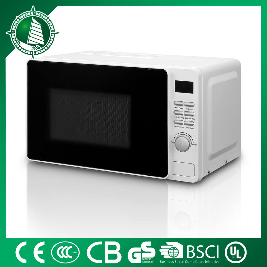 standard chemical 20L mini white most popular car microwave oven in USA