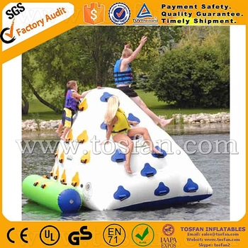 Large inflatable water float iceberg A9044B