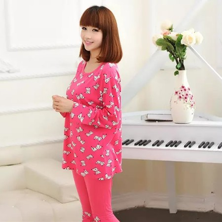2015 high quality girl silk pajamas