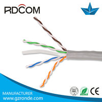 High speed 305m computer networking outdoor utp cat6 lan cable