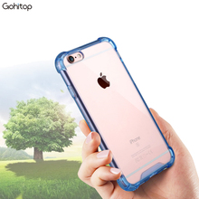 2016 New Products Cheap Cell Phone Case for iPhone 6 Skpckproof TPU 4 Cornors Protect