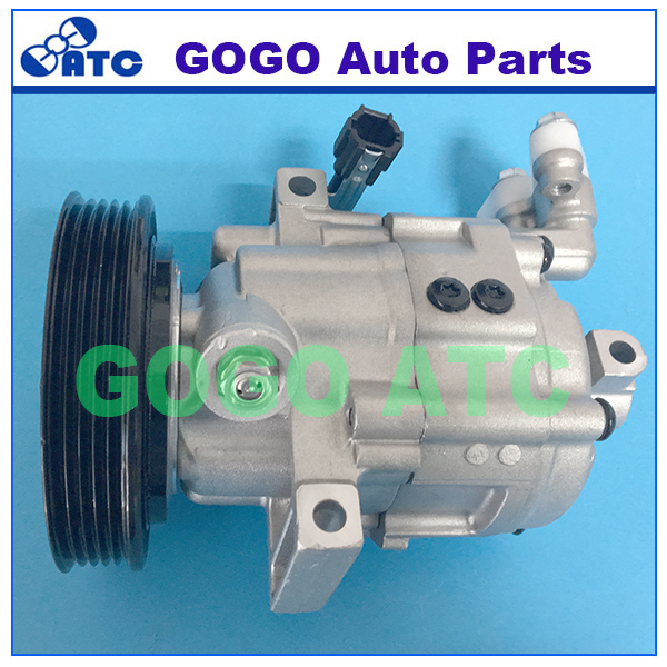 DKV08R Auto A/C Compressor for N issan Micra <strong>K12</strong> OEM 5060216860 5060217430 92600AX800 92600AX80A 92600AX8