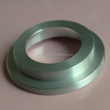 Customized full external thread cnc turning aluminum parts