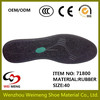 shoe covers rubber sole with foam rubber sole and kevlar safety shoes sole
