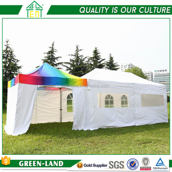 Factory Price Folding Carport Outdoor Pavilion Pop Up Tent With Windows