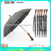 sniper rifle umbrella Desert eagle umbrella long shooting handle umbrella