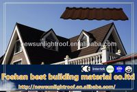 China spanish colorful stone coated steel roof tile/Lighter weight than asphalt shingle/reliability roof tile manufacturer