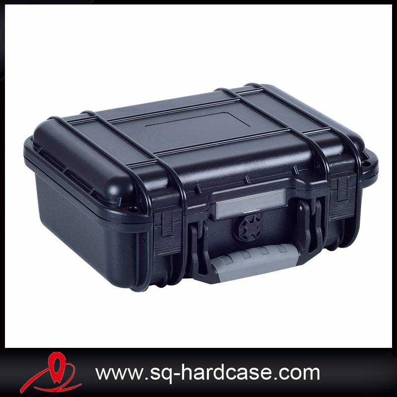 Small size weather resistance hard plastic carrying case for tools