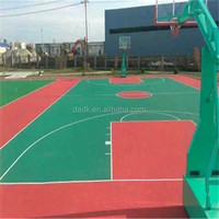 PP interlocking university basketball court flooring