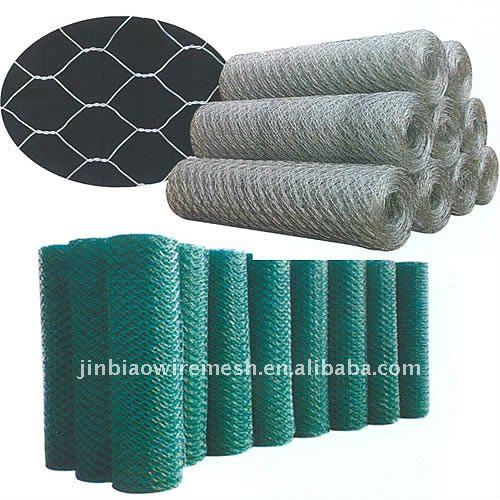 PVC chicken wire mesh/Galvanized hexagonal wire mesh(anping)