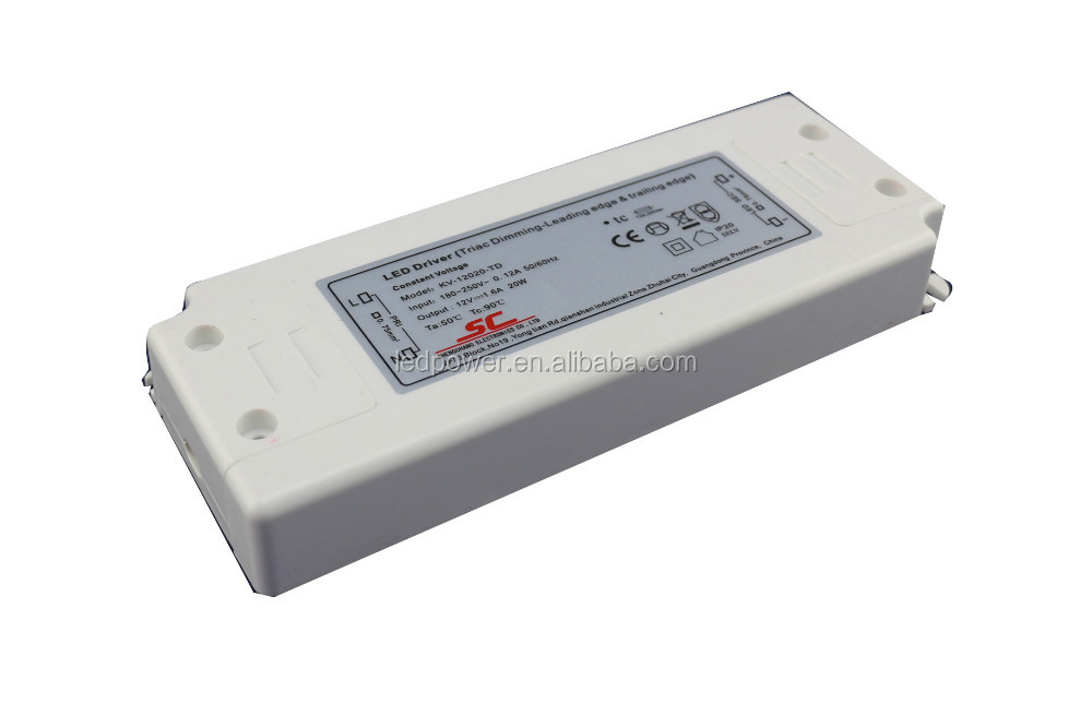 ETL cETL listed 12V 24V 10W LED dimmable driver indoor use for LED strips/ module