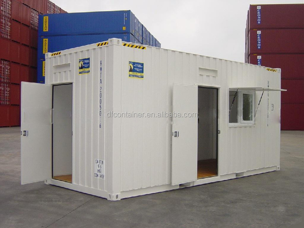 ISO standard 20ft New metal house container/ office container/special container