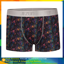 new arrivial cheap design 10% spandex 90% polyester boxer briefs