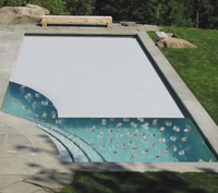 Hot Safety Pool Cover Automatic Polycarbonate