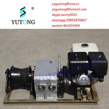 5 Ton Honda Gasoline Engine Powered Cable Pulling Winch for Cable Take Up