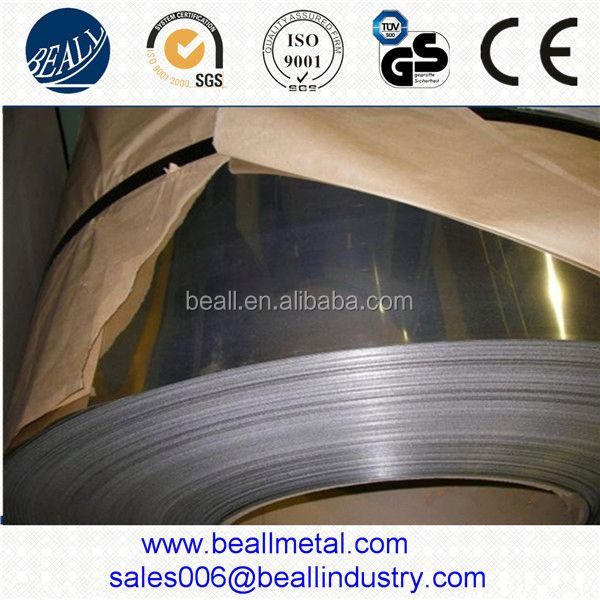2B BA Cold rolled stainless steel strips/coil/banding 430 420 201 304 316L