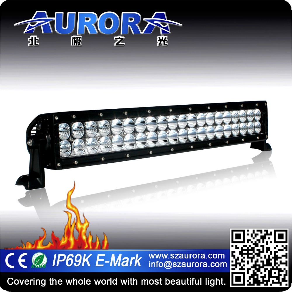 SEMA supplier 20inch 200w LED light bars Combo Spot&flood Driving Offroad Bar 4Wd
