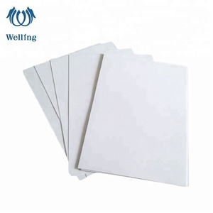 4x8 offset printing glossy white gloss PVC film sheet