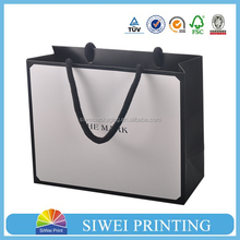 Luxury shopping paper bag, different types design custom paper shopping bag , customized paper bag
