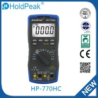 HP-770HC Hot sale european standard protable lcd digital multimeter