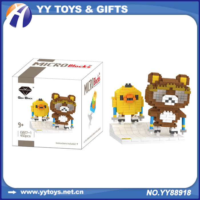 Give kids learning intellect 3 d toy building blocks