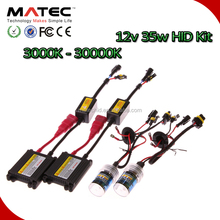 Kit Xenon HID H8, 3000K 4300K 6000K 8000K 10000K 30000K from Matec
