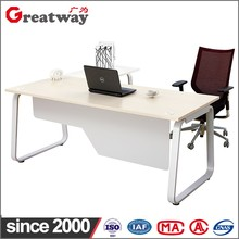 Low prices good quality steel structure contemporary office manager desk