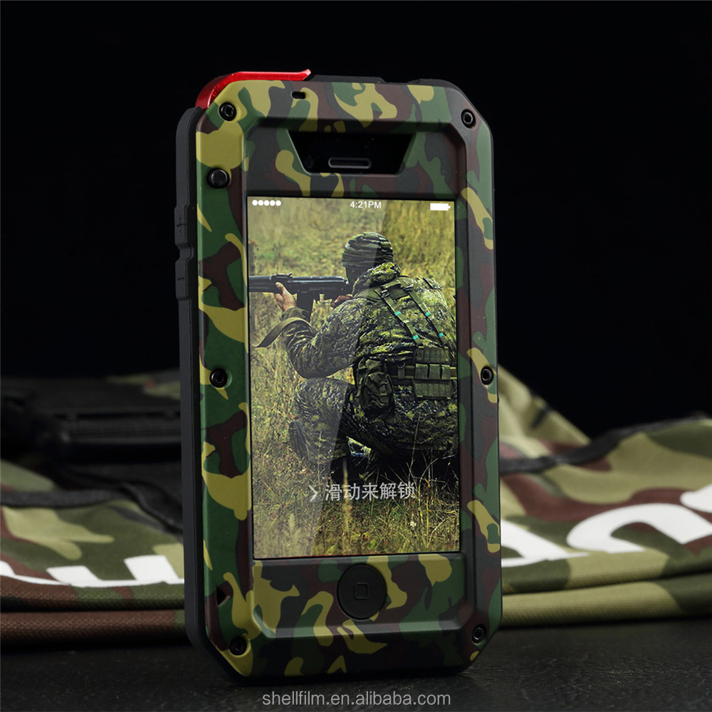 Military fans Mobile phone case For iphone 4 4s , Scratchproof