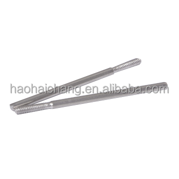 Customized hardware fasteners external thread dowel pin