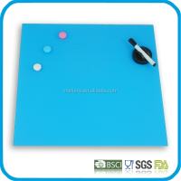 best quality customizing magnetic glass writing board, glass notice board, glass memo board