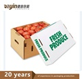 Cheap Water-proof Corrugated Fruit And Vegetable Carton Boxes
