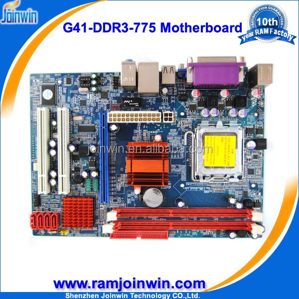 Desktop socket g41 775 motherboard support p4 pci/ ddr3