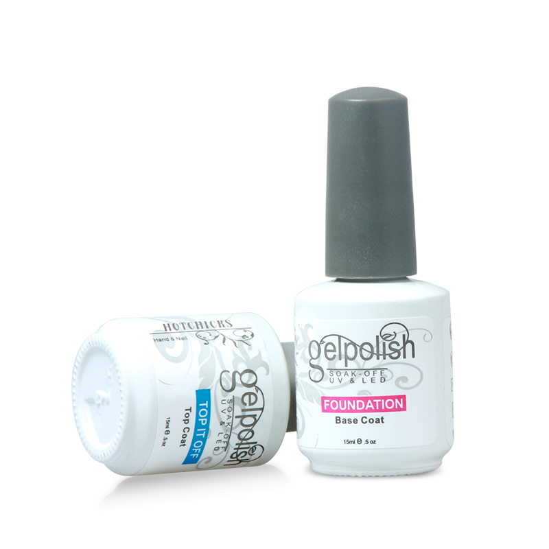 Nail art uv gel fast drying gel top coat no wipe