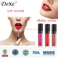 competitive price wholeday waterproof tear-off style Color Lipsticks DEXE Lip Gloss