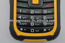 ip67 waterproof for military OUTDOOR 3g feature blind people mobile phone manufacturer